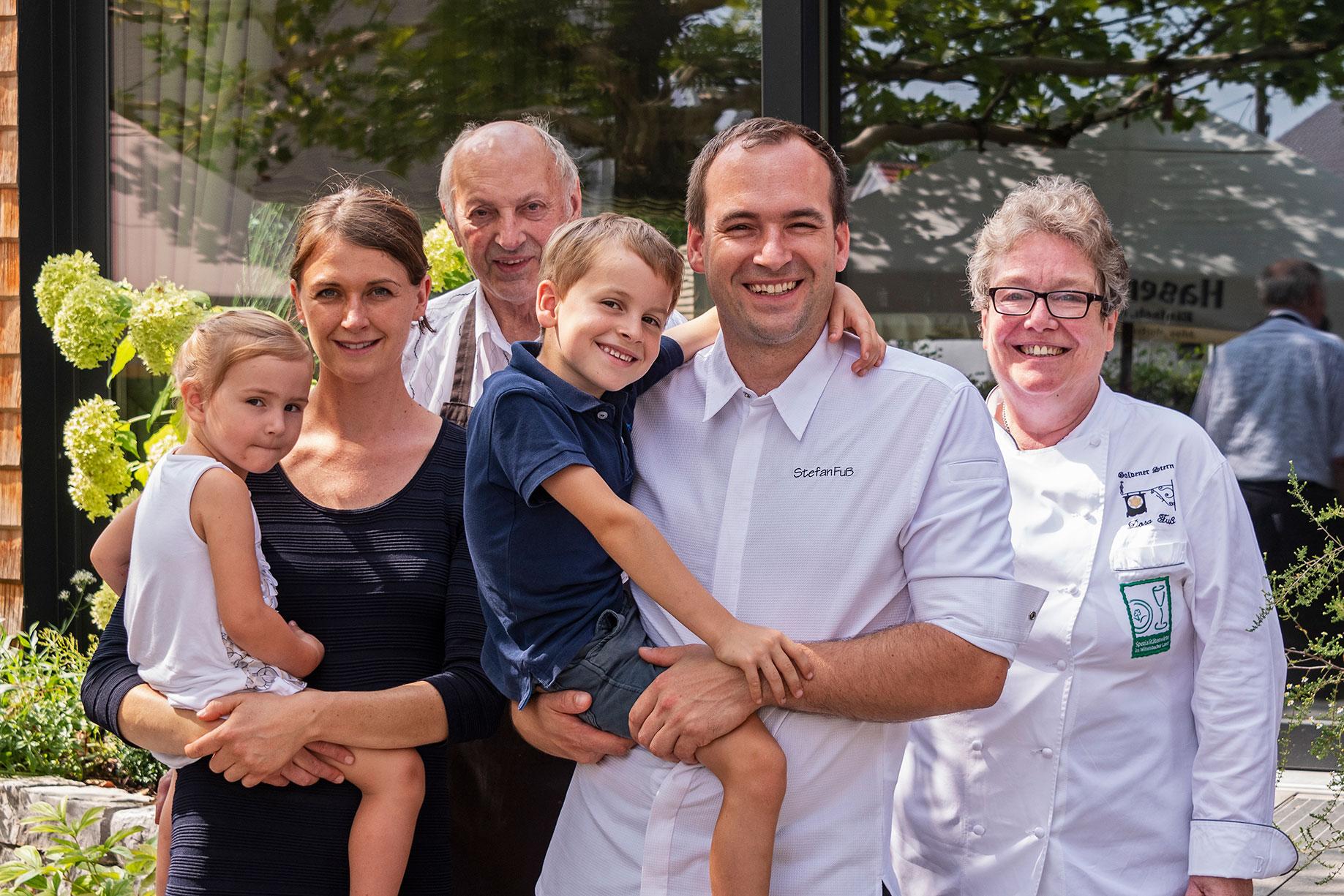 Die Familie Stefan Fuss