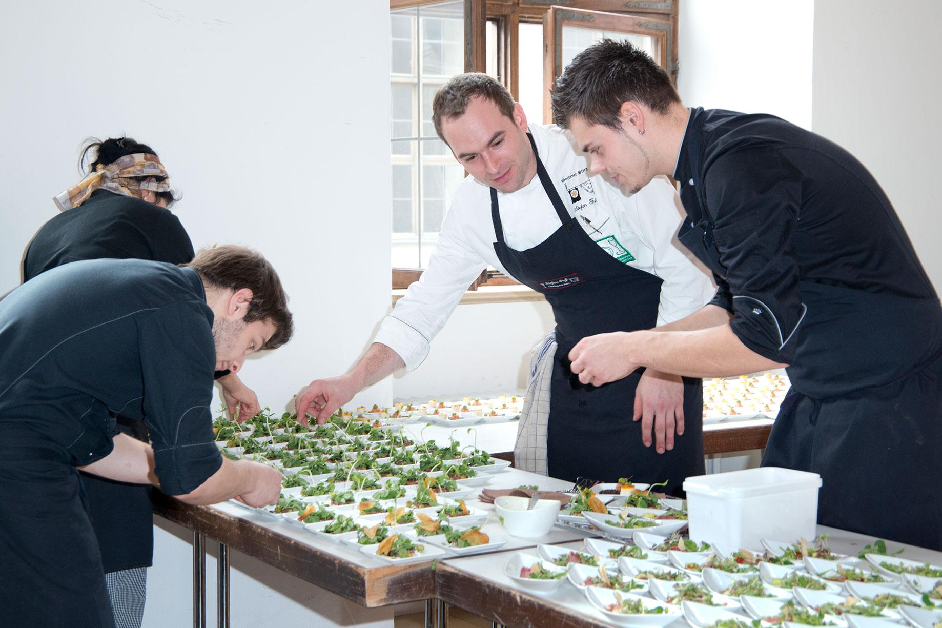 Catering Event, ausgerichtet von Stefan Fuss