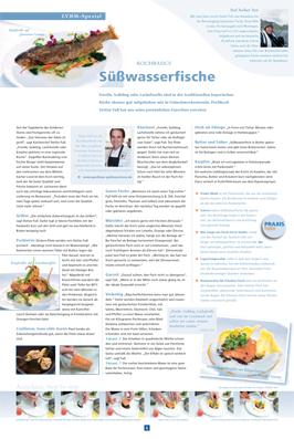 Pressebericht im M+K Bote über Süßwasserfische im Gasthaus Goldener Stern