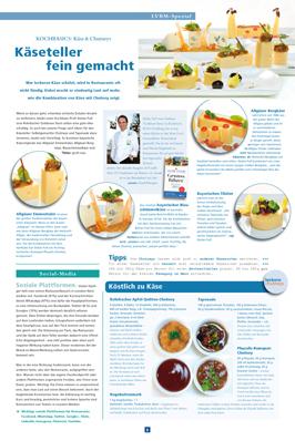 Artikel im Bayerischen Milch- und Käseboten - Kochbasis, Gasthaus Goldener Stern