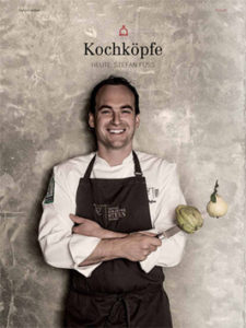 "Artikel in Top Schwaben 2015 ""Kochköpfe"" über Stefan Fuß"