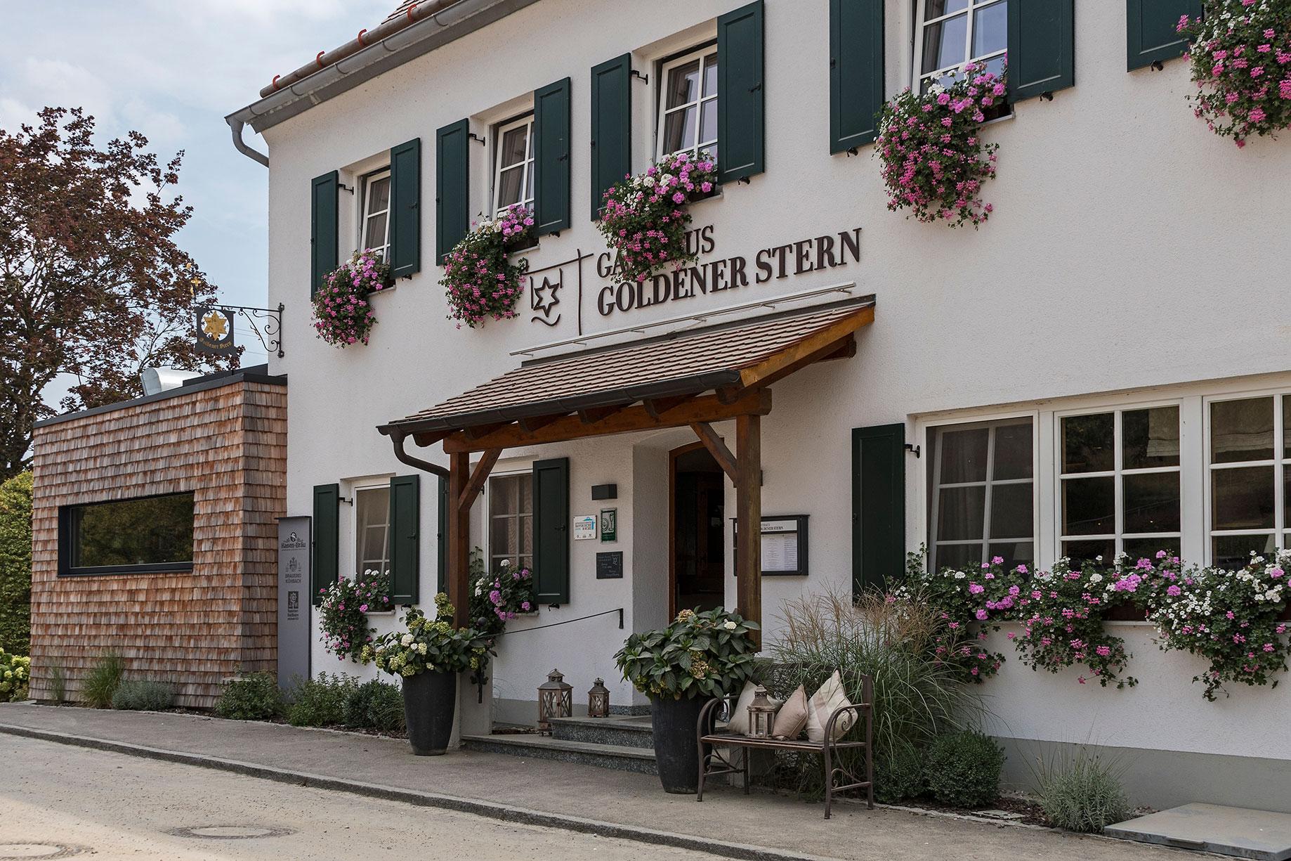 Gasthaus Goldener Stern Eingang
