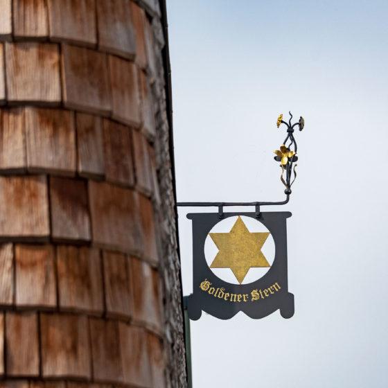 Foto Detail des Schildes gasthof Goldener Stern