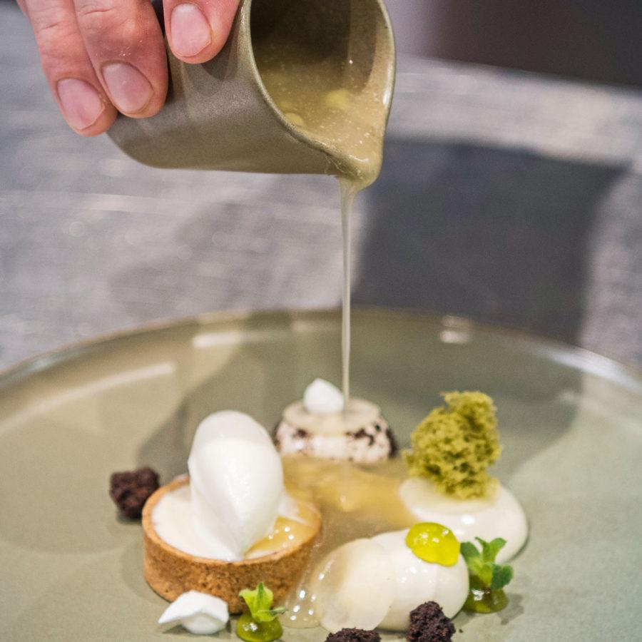 Zubereitung des Speisen im Gasthof Goldener Stern
