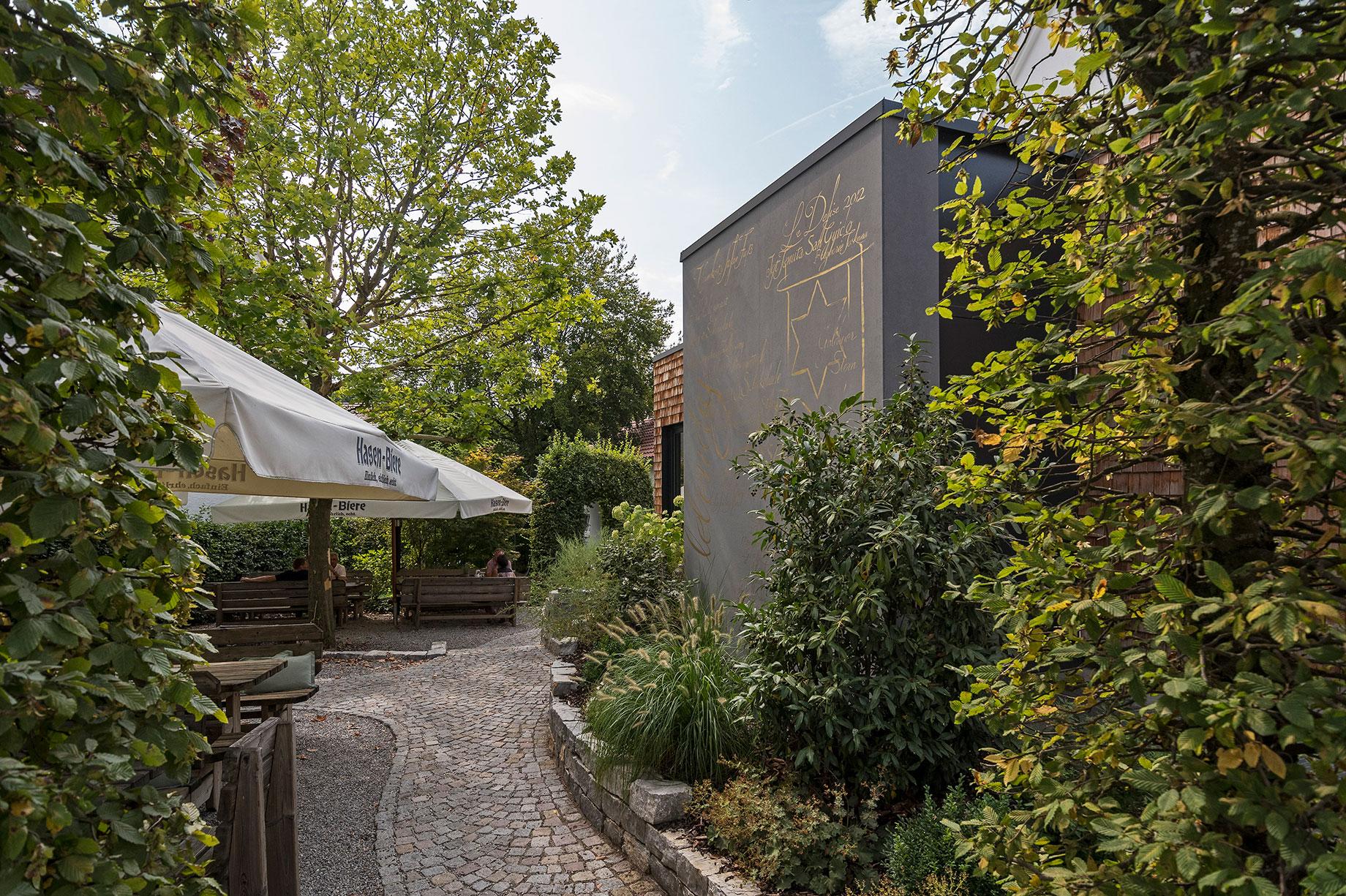Gasthaus Goldener Stern, Aussenbereich